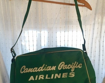 Vintage Canadian Pacific Airlines Bag