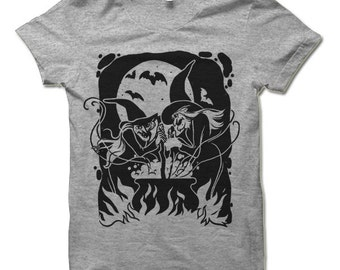 The Witches' Brew Halloween T Shirt. Funny Halloween Gift.