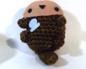 Cute Crochet Otter Amigurumi Plush