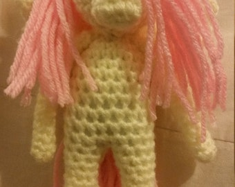My Little Pony Fluttershy crochet Doll