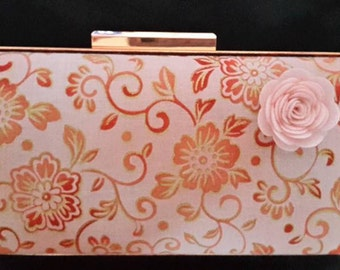 Clutch bag Rose Gold