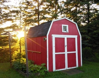 The little red barn!