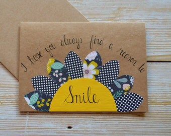 Encouragement and Support Card, Handmade Greeting Card