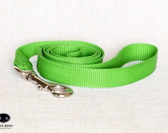 "Custom Dog Leash, Soft Webbing Dog Leash, Fixed Dog Leash, PP Dog Leash, Dog Lead, Wide 3/4"" 20 mm"