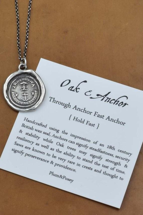 Anchor & Oak - Wax Seal Jewelry - 289