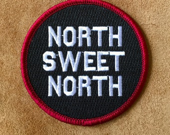 North Sweet North - Iron on Patch