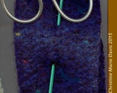 knitting needle SHAWL pin - great gifts for knitters and handweavers.. scarf - sweater or shawl pin - Group 3