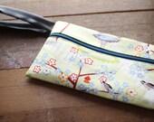 Inner tube, upcycled bag, gift for bird lover, for her, for grandma, for aunt, for mom, for sister, bike inner tube, great gift #308