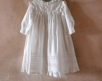 Victorian Whites Children's Mother Hubbard Dress Size 3