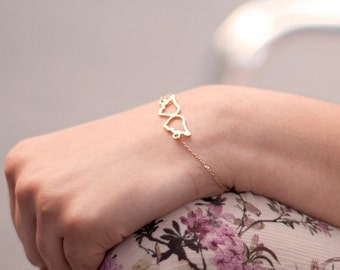 Wings Bracelet. Angel Bracelet. Angel Wings Bracelet. Delicate Golden Wings Bracelet. Delicate Golden Bracelet. Tiny Wings