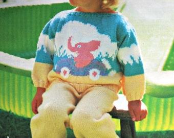 Elephant Pants Knitting Pattern : Knitted elephant pdf Etsy
