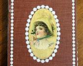 Handbound Artist Journal from vintage WE TWO