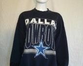 Dallas Cowboys NFL Football sweatshirt, 90s sweat shirt Cowboys