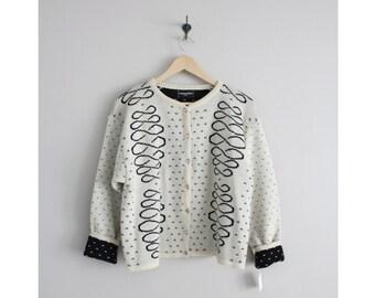 wool cardigan / oversized sweater / crissandra paris