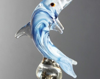 Blue Dolphin Wine Stopper