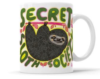 Sloth Mug Funny Gift Cute Mug Animal Mug Lazy Gift Cute Sloth Funny Mug Sloth Gift Live Slow Sloth Life Netflix Chill Lazy Mug Best Friends