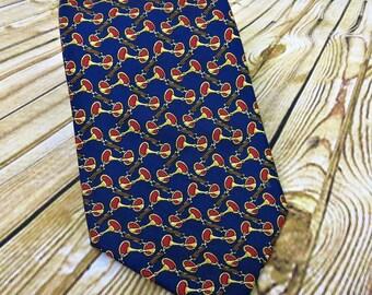 Vintage Necktie - Mens Gift Ideas - Brooks Brothers Tie - Gift for Dad - Boyfriend Gift - Fathers Day Gift - Groomsmen Gift - Designer Tie