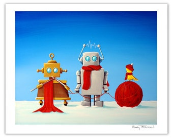 Robot Series Limited Edition - Soft Wear Engineers - Signed 8x10 Semi Gloss Print (5/10)
