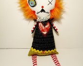 Handmade Art Doll (Gemma Ginger)