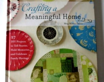 Crafting Book - DIY - Collage - Quilting - Sewing - Decorating  - Decoupage - Design