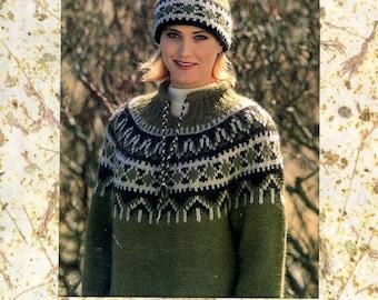 Istex No 14 Alafoss Lopi Knitting Pattern Booklet Icelandic English Instructions