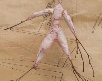 Art Doll, Art, Doll, Fine Art, Fine Art Doll, Sculpture, Figurative Art, Cloth Doll, Fiber Art, Soft Sculpture, stitch, Stitched Doll, Sewn