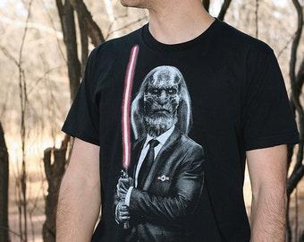 Dark side walker - Game of thrones t shirt , men shirt, graphic tee, Star wars mens t shirt ( White walker t shirt ) mens graphic t shirt