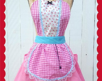 Little Miss Muffet costume, womens costume apron, Halloween costume, vintage fairy tale costume, tutu apron, shabby chic style, retro apron