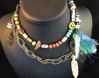 Tribal Queen Long Necklace