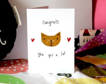 Congrats you got a cat card cc156