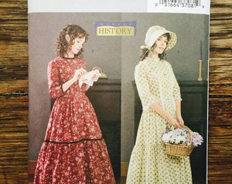 Butterick 3992 Historical Pioneer Woman Costume Pattern - size 12, 14, 16