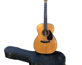 1943 Martin Guitar 00021 Rare World War II Model, Vintage Musical Instrument