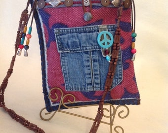 Small Fun Hippie Style Casual Shoulder Bag