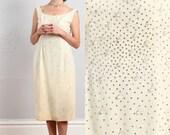 ON SALE Beaded Sheath Dress