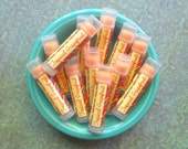 Tropical Grapefruit Vegan Lip Balm - Limited Edition End of Summer Flavor - Grapefruit, Lime, and Coconut