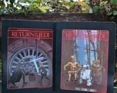 Pair of 1983 Star Wars Return of the Jedi Folders