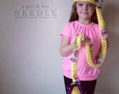 Tangled Inspired Rapunzel Braid Dress-up Headband