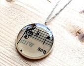 The Sea Pendant Necklace