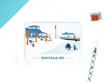 A Buffalo Christmas with Buffalo Cards for the Holidays, A Winter Wonderland
