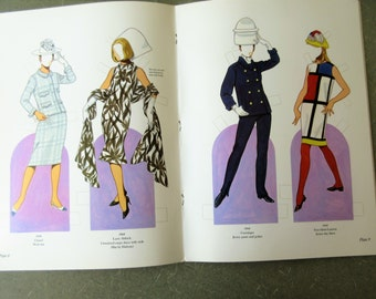 Vintage Paper Dolls, 1960s Fashion Designs, Tom Tierney, Vintage Fashion Dolls, Haute Couture Paper Dolls, Fashion Designs of the Sixties