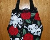 Skulls & Roses Coffin Purse - Petunia's Finest - Gothic