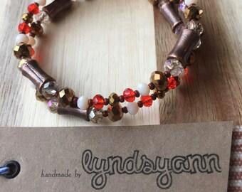 Autumn Coil Bracelet