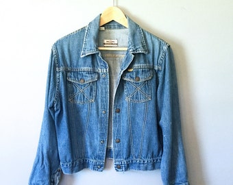 Perfect Vintage Denim 1970's  Jacket
