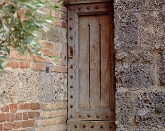 Secret Door Italian Print, Door Photography, Rustic Home Decor, Italian Wall Art, Italian Art, Italy Photo,European Wall Art,Italy Print