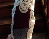 Jane Jacobs Finger Puppet
