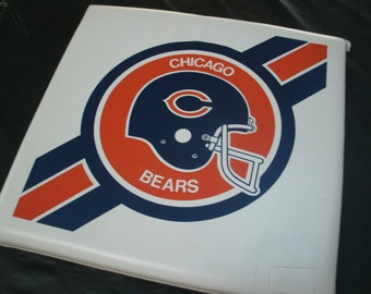 Vintage Chicago Bear Bleacher Cushion