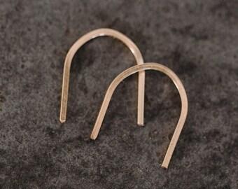 U Shaped Earrings