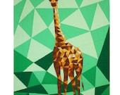 Giraffe Abstractions - A Violet Craft PDF Quilt Pattern