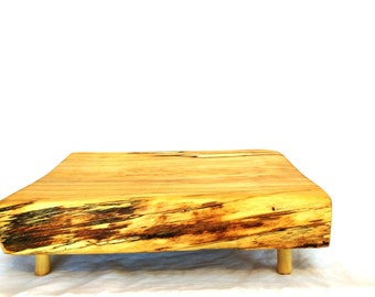 Large Rectangle Cake Stand, Rustic Wedding Cake Stand, Birch Wood Cake Stand
