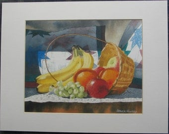 Fruit and a Basket